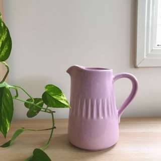Ceramic water jug / vase