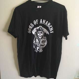 sons of anarchy tee, men's size medium