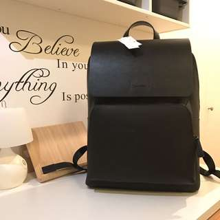 Brand new Calvin Klein leather backpack