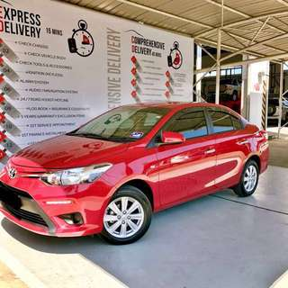 2017 New Toyota Vios