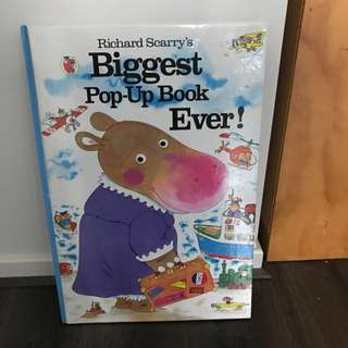 Richard Scarry's Biggest Pop up Book Ever! -currently unavailable