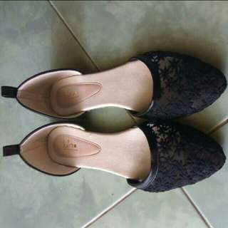 Handmade flat shoes by luino size 38