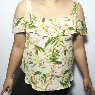 Floral Off Shoulder
