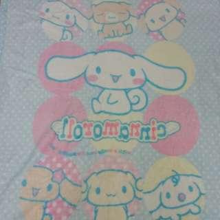 Sanrio Cinnamoroll UJI bedding : Coral Plush Blanket (112