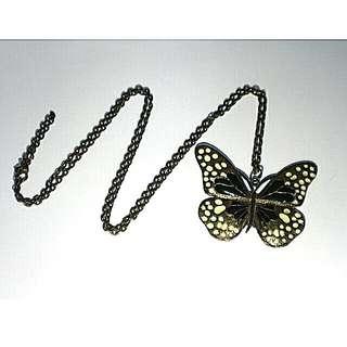 Fancy Butterfly Necklace