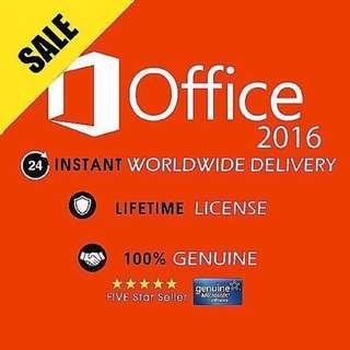 Office 2016 / Windows 10