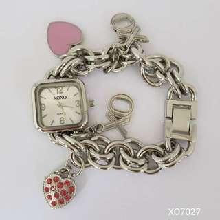 XOXO WOMEN's Watch with Charm