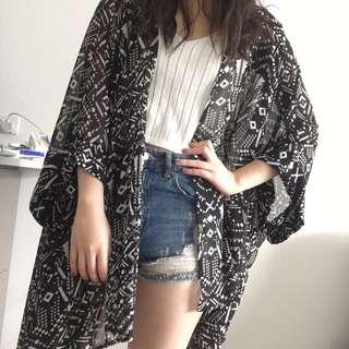 NEW - Printed Kimono (Two for $12)