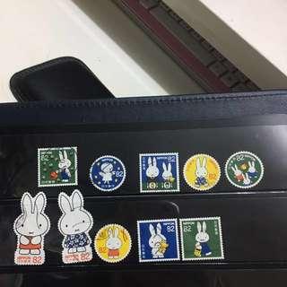 日本MIFFY信銷郵票B15(已使用)
