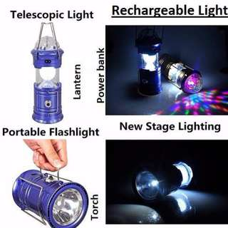 *freepostage Camping/Colourful Lights 4 Functions