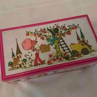 絕版Lady mate懷舊日本首飾盒音樂盒