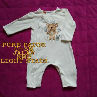 Sleepsuit Pure Patch