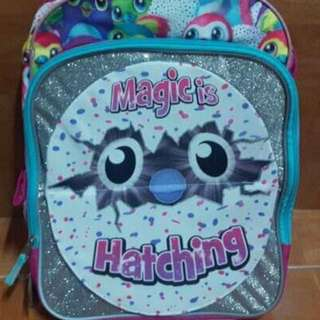 Hatchimals 16 inch Backpack with Side Mesh Pockets