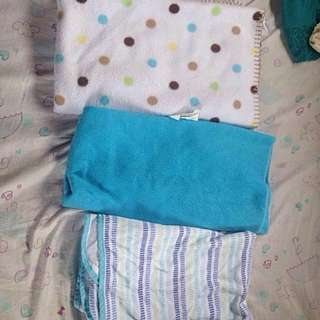 REPRICED! ASSORTED BABY BLANKETS