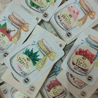 ON-HAND Foodaholic 4D Masks