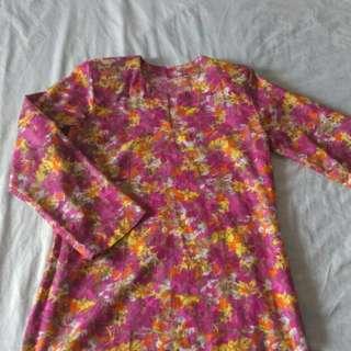 Baju Kurung Moden Cotton