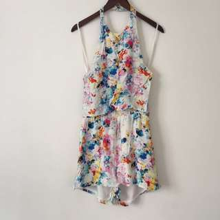 Cute Colorful Playsuit