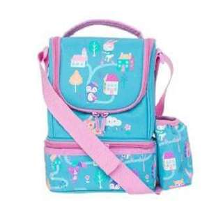 Smiggle  Dizy strap Lunch bag Blue