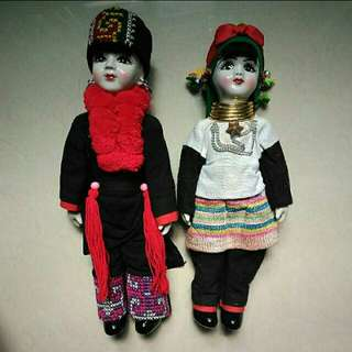 Dolls for photography