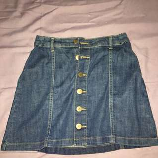 Aeropostle Denim Skirt