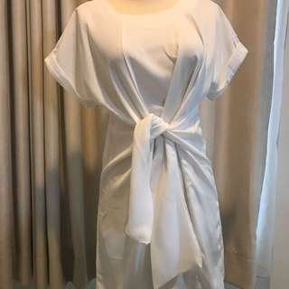 White Knot dress