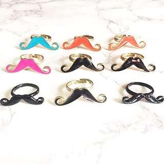 BN Moustache Rings
