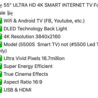 4k HD SMART TV FOR SALE