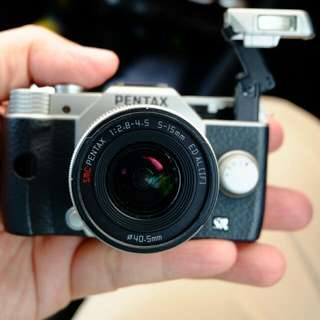 Low, low price! Pentax Q10, Smallest Mirrorless Interchangeable Lens Camera