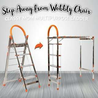 Classy mom multi-usage ladder