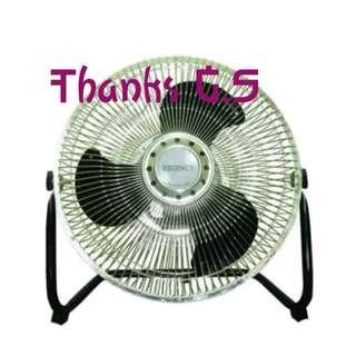 Deak fan regency 6 inch