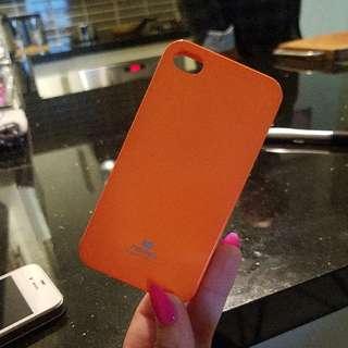 iphone 4 case orange
