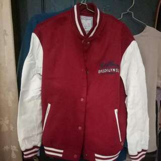 Pull N Bear Boomber Leather