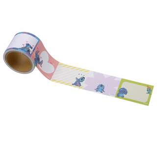 Japan Disneystore Disney Store Stitch & Scrump Roll Sticky Notes Pad