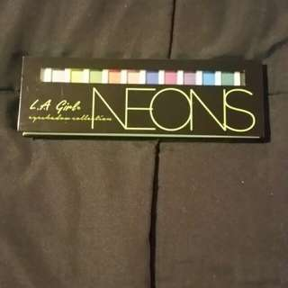 LA Girl Neon eyeshadow palette