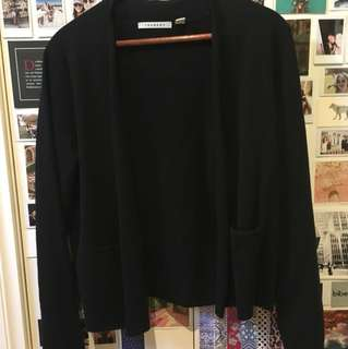 Trenery black cardigan