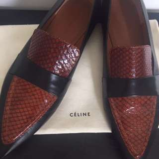 CELINE pointed loafers