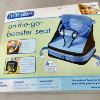 Booster seat first years
