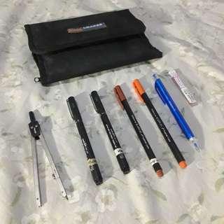 Drawing tool set 1