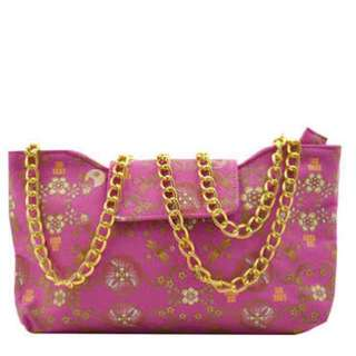 Anna sui romantica evening bag