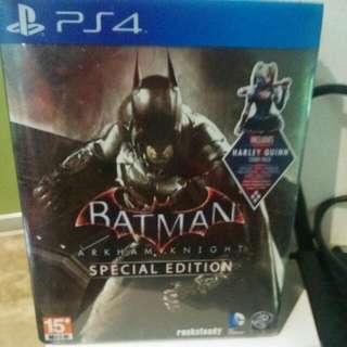 Batman Arkham Knight Special Edition PS4