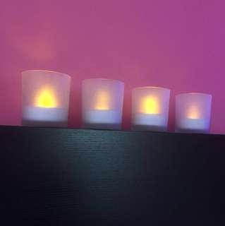 Tealight holder candle light Lamp