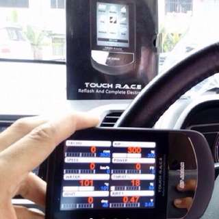 INFO METER M7 JAPAN TOUCH RACE