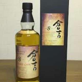 $750 日本威士忌 倉吉 8年 雪筣桶 純麥芽威士忌 700ML