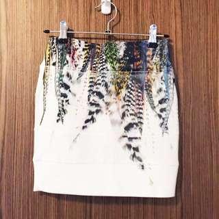 White Bodycon Skirt