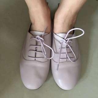 真皮牛津鞋