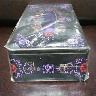 絕版Anna Sui金屬紙巾盒