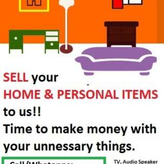 Sell your item to us!