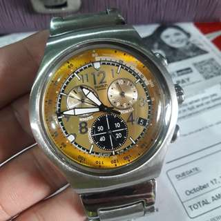 Swatch  big  size  watch