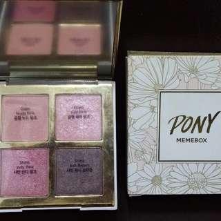 PONY Memebox Shine Easy Glam 3 眼影