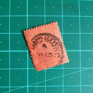 1897年 香港單圈小圓戳